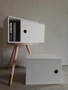 Laatikko-yöpöydät